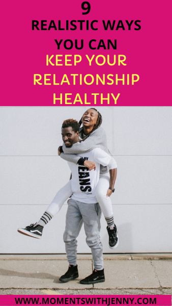 Keep your relationship healthy