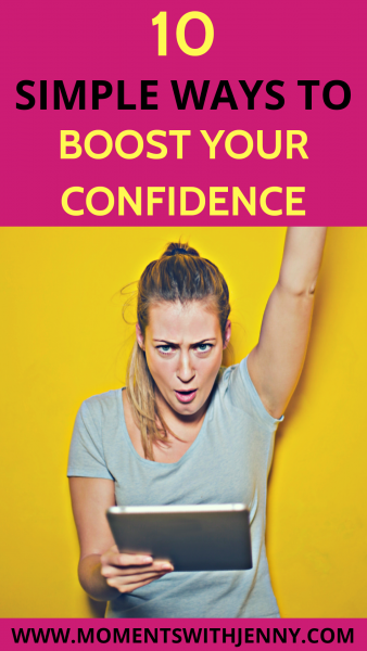 10 simple ways to boost your confidence