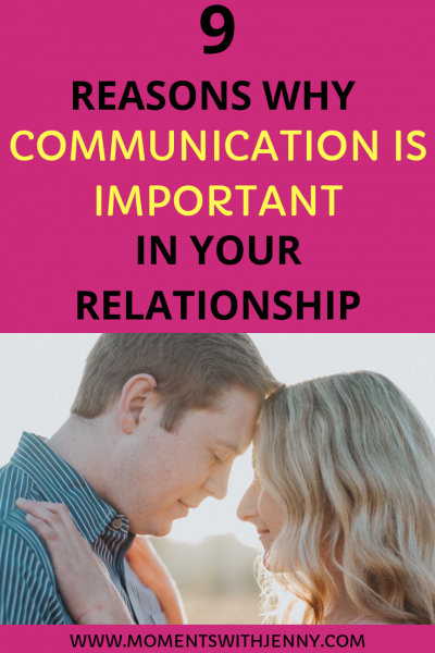 Why communication is important in your relationship
