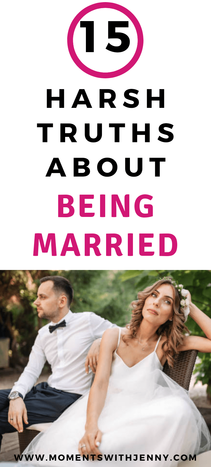 15 harsh truths about being married