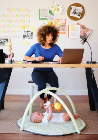 7 ways work at home moms can stay productive