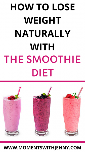How to burn belly fat with the smoothie diet