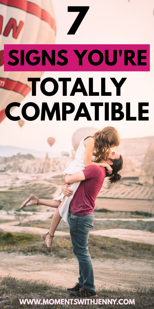 7 signs you're compatible with your partner