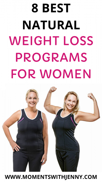 8 best natural weight loss programs for women