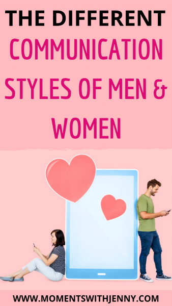 The different communication styles of men and women