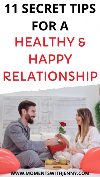 11 secret tips for a healthy and happy relationship