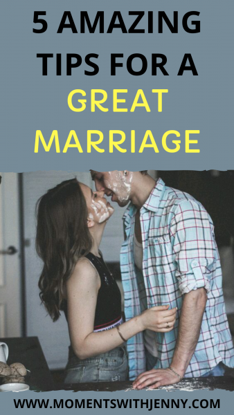 5 amazing tips for a great marriage