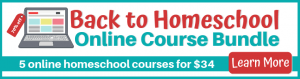 Back To Homeschool Online Course Bundle