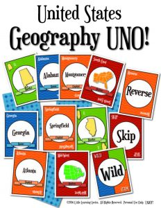 US Geography Bundle for homeschoolers