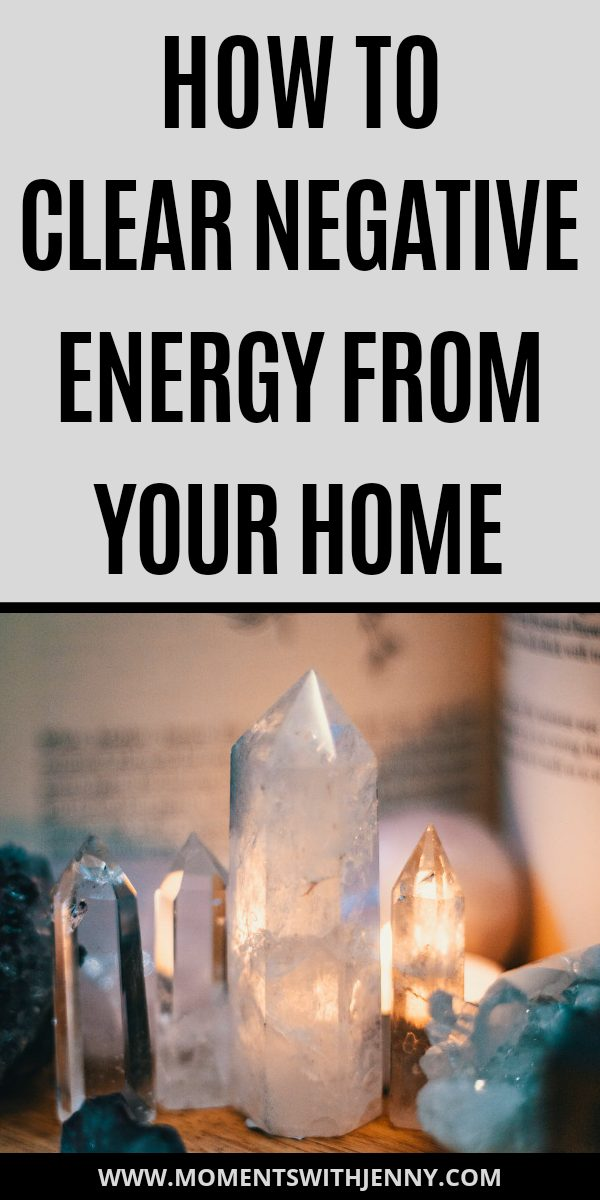 How to clear negative energy from your home