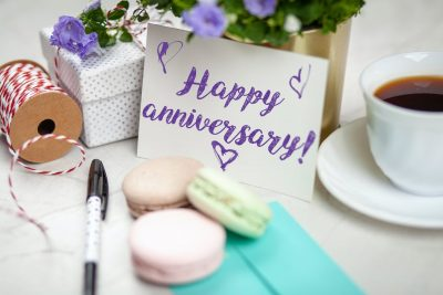 5 Romantic Anniversary Ideas