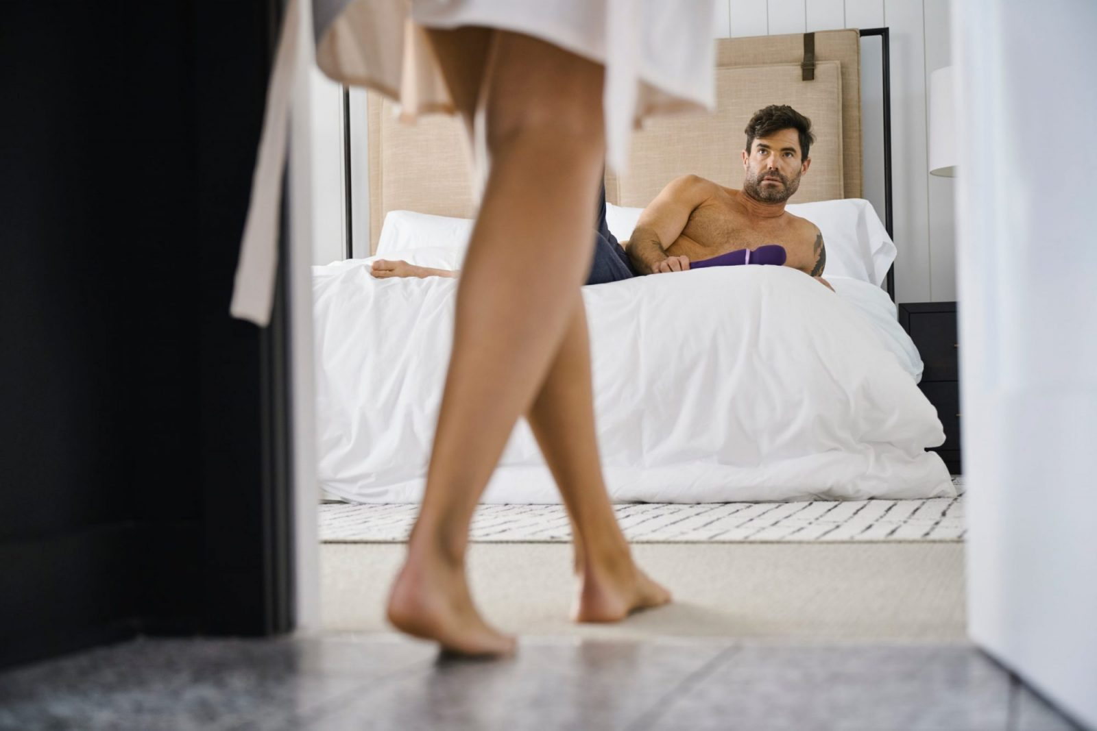 Ways to please a man in bed