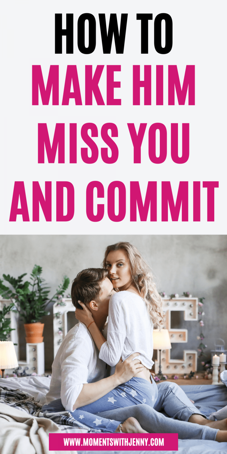 How to get him to commit without pressure