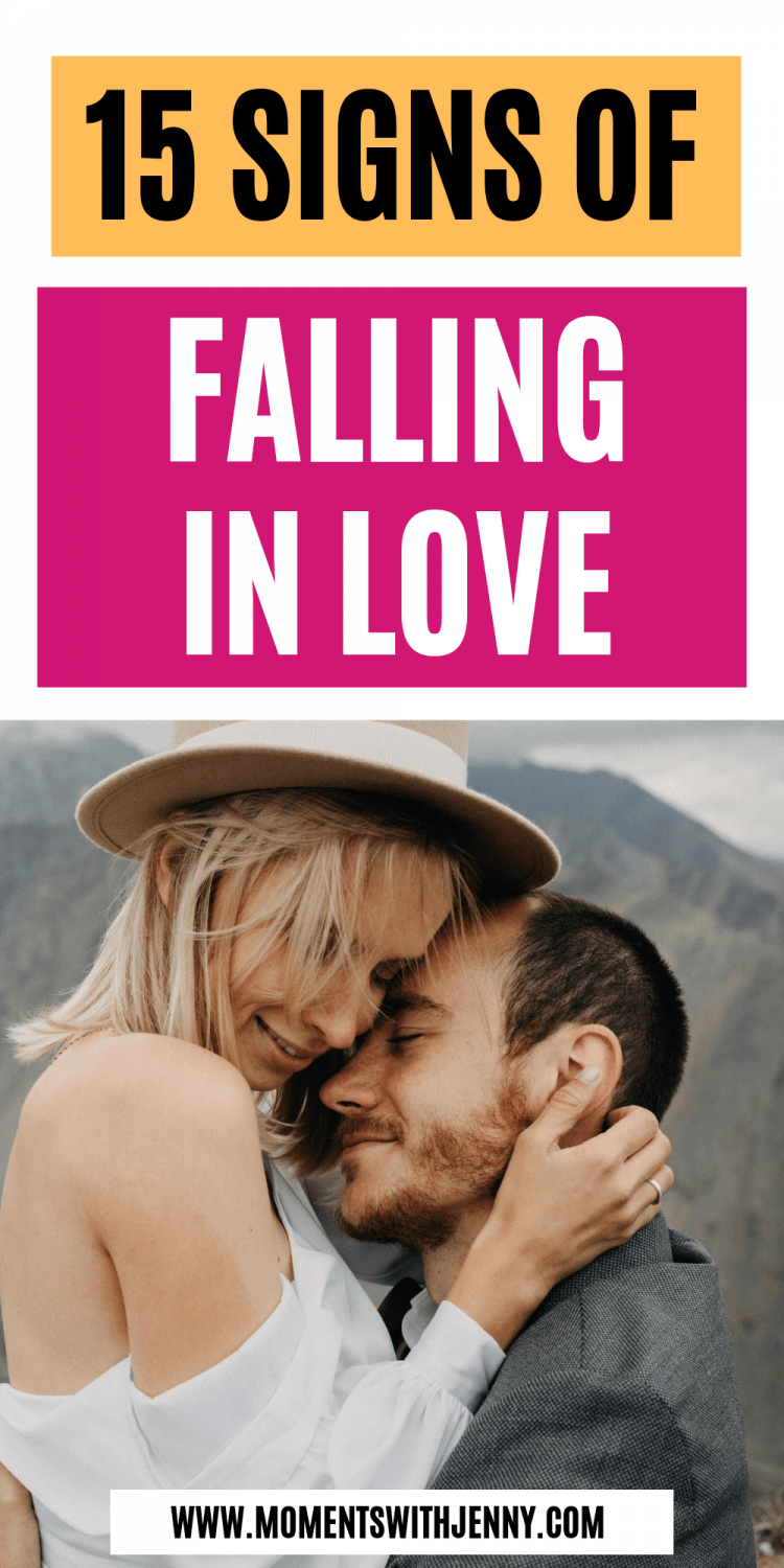 15 signs of falling in love
